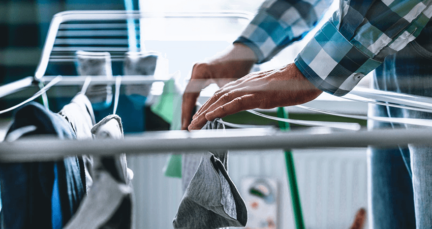 how to build a folding clothes drying rack