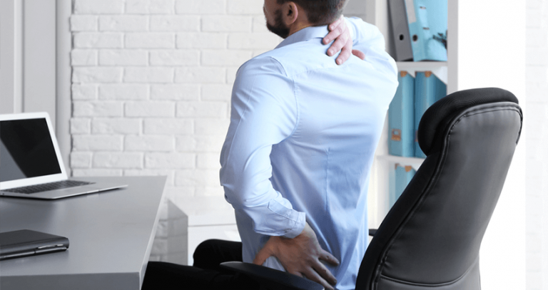 lower back pain from sitting too much