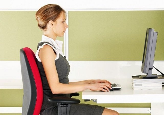 How Should You Sit in an Office Chair?